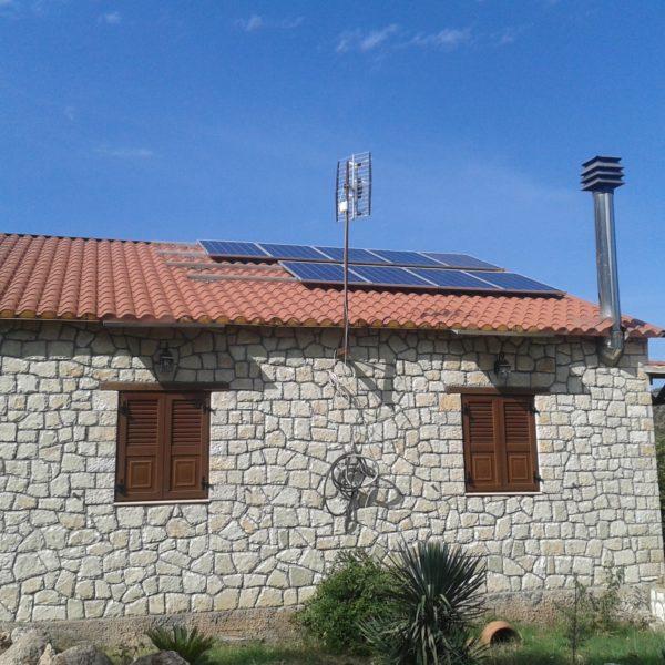 Αυτόνομη εξοχική κατοικία 2,25kW Τρίκαλα