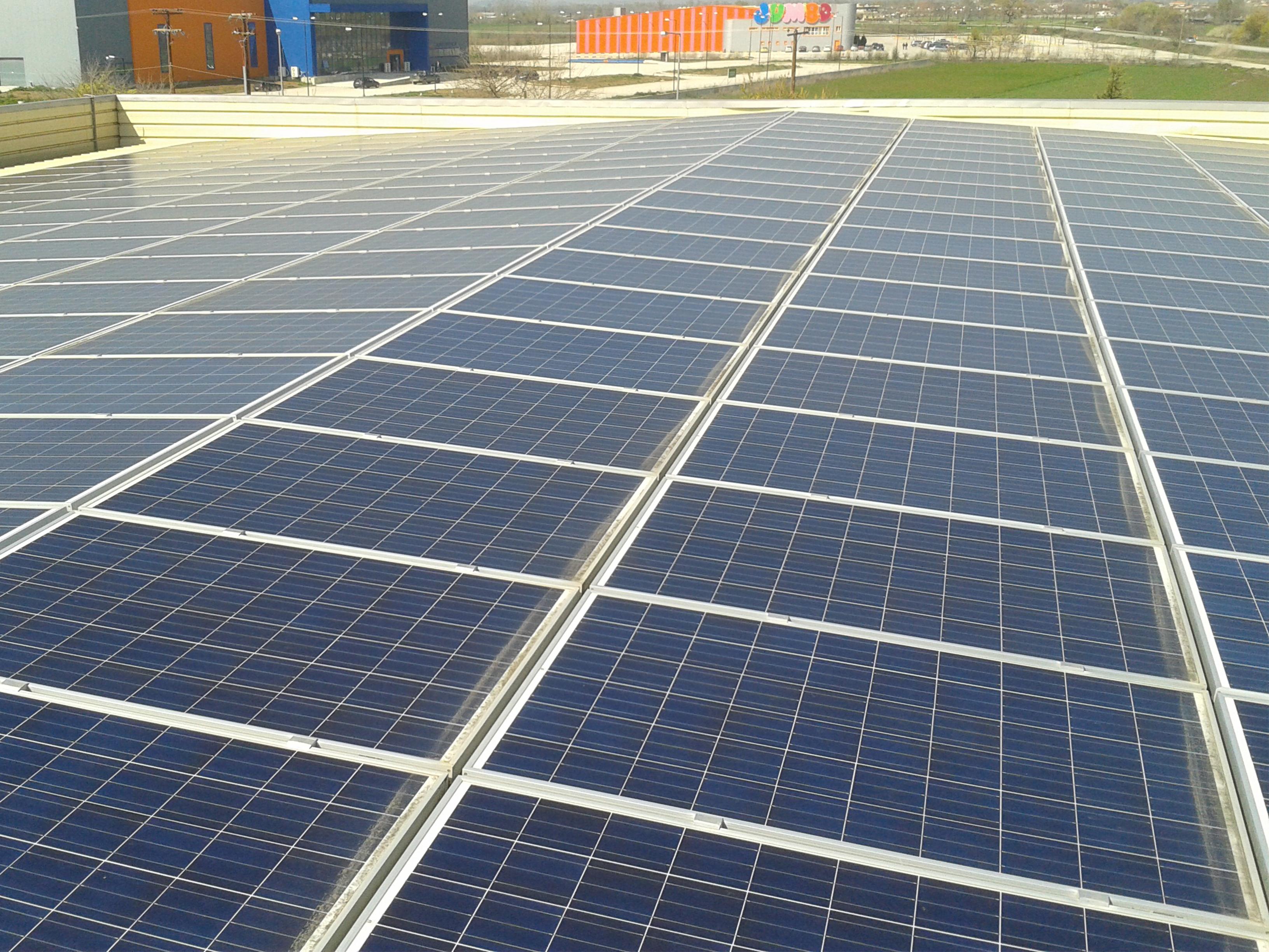 Φωτοβολταικο παρκο επι κτιριου 100kW Τρικαλα