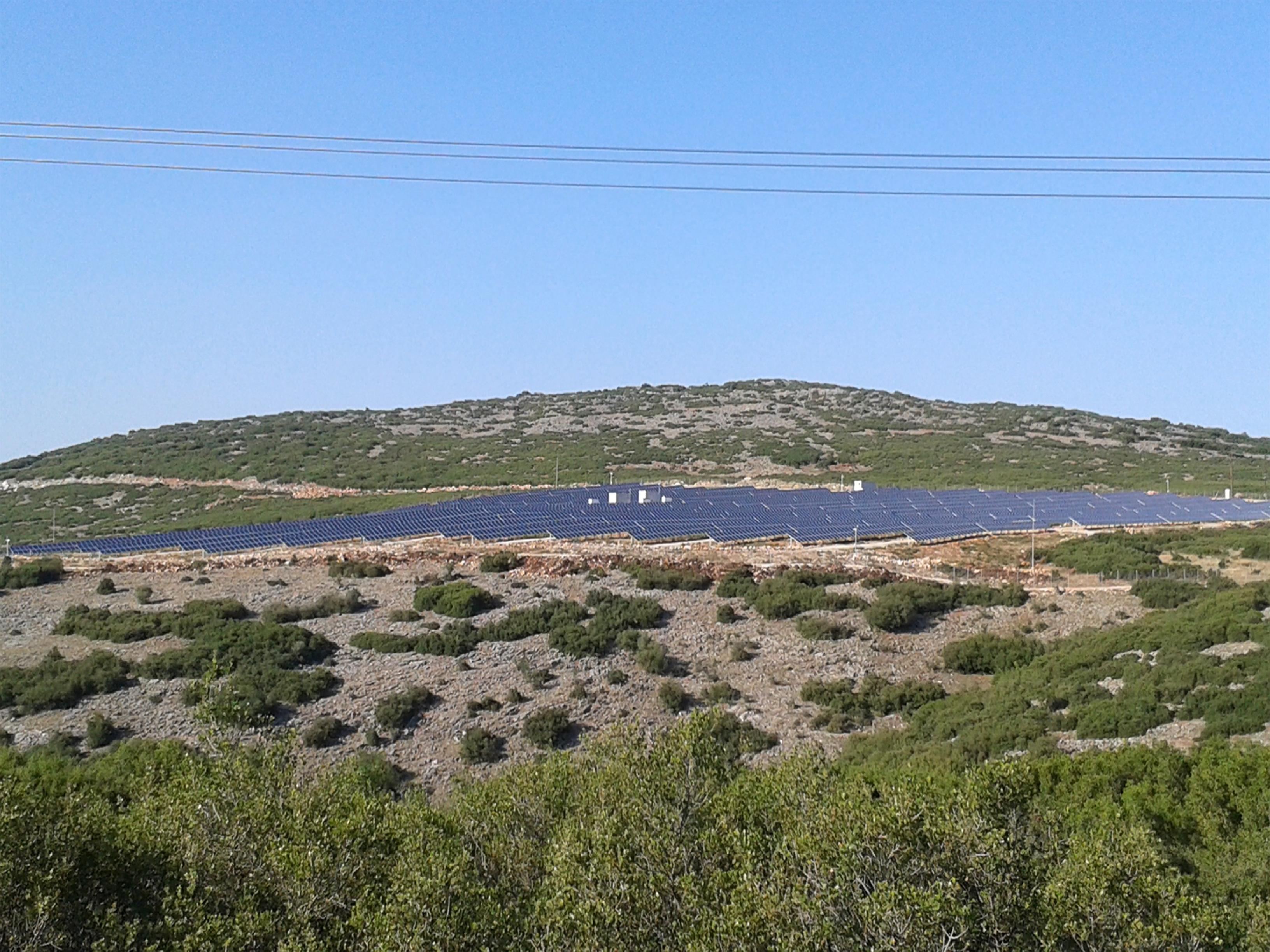 Φωτοβολταικό πάρκο 2000kW Χρυσαυγή-Τρίκαλα