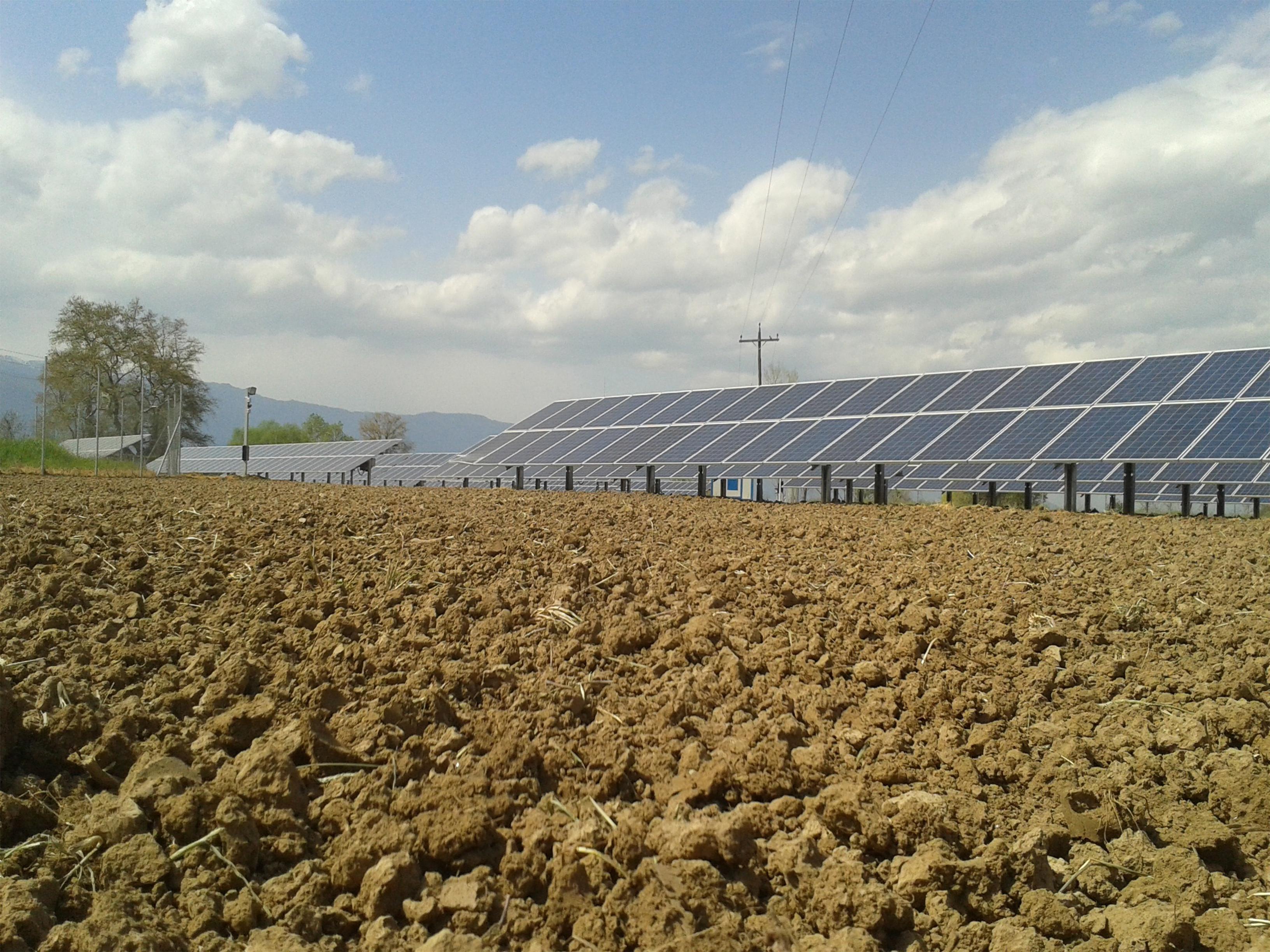 Φωτοβολταικό πάρκο 200kW Καλύβια-Τρίκαλα